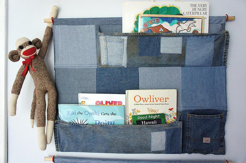 lilikoi vanilla jean pocket organizer. Black Bedroom Furniture Sets. Home Design Ideas
