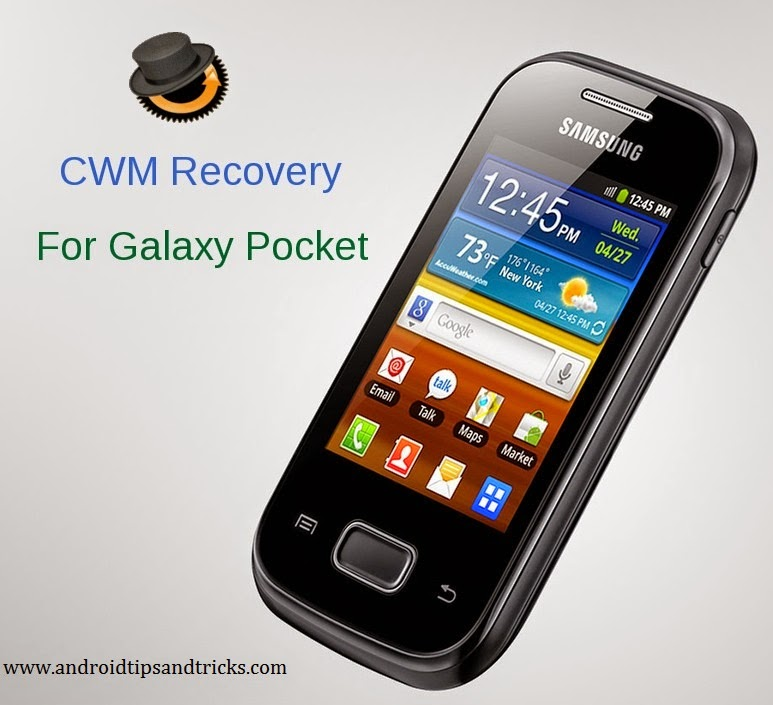 install CWM recovery on samsung galaxy pocket