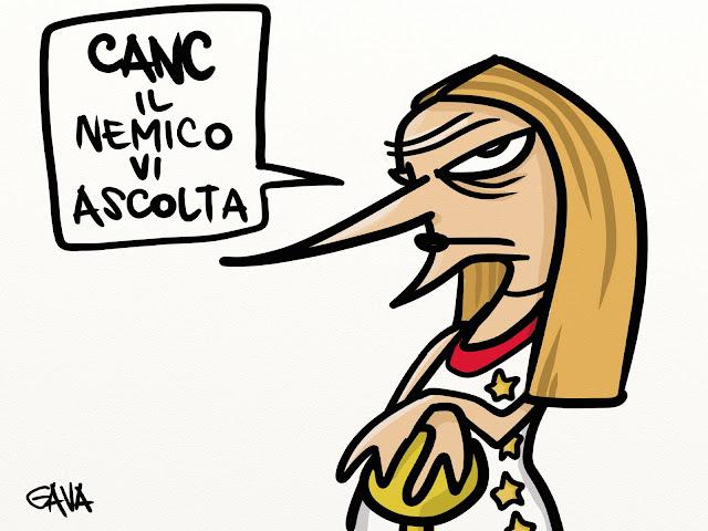 gava gavavignette satira politica ridere illustrazioni marco gavagnin lombardi spie merda