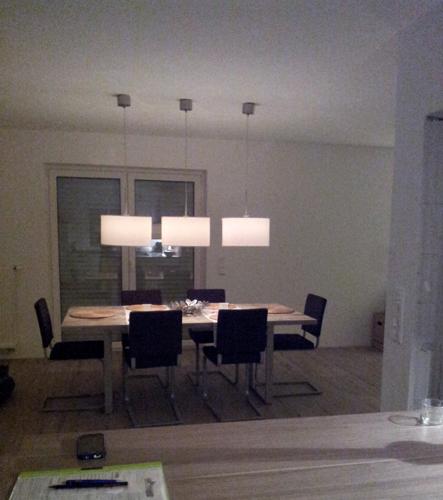 ein haus f r uns einrichtungs garten und baublog der esstisch und die st hle sind da. Black Bedroom Furniture Sets. Home Design Ideas