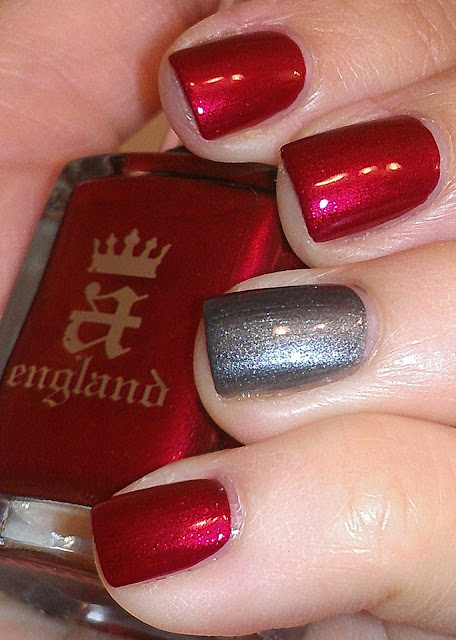 red silver slate