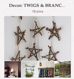 twig board on Pinterest via Funky Junk Interiors