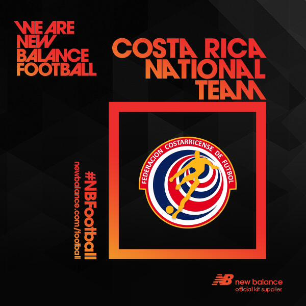 Nueva camiseta alternativa New Balance de Costa Rica