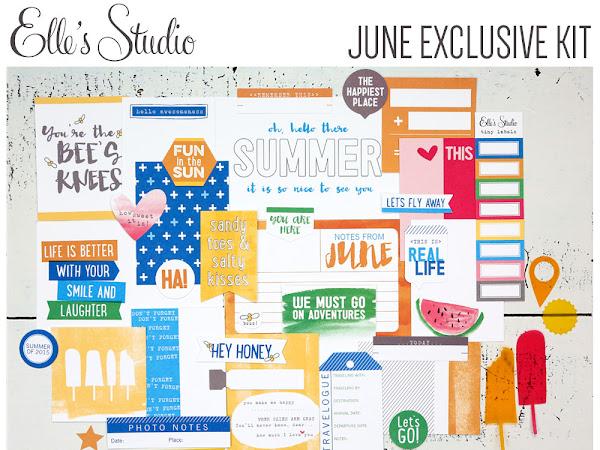 Elle's Studio Design Team : June Kit