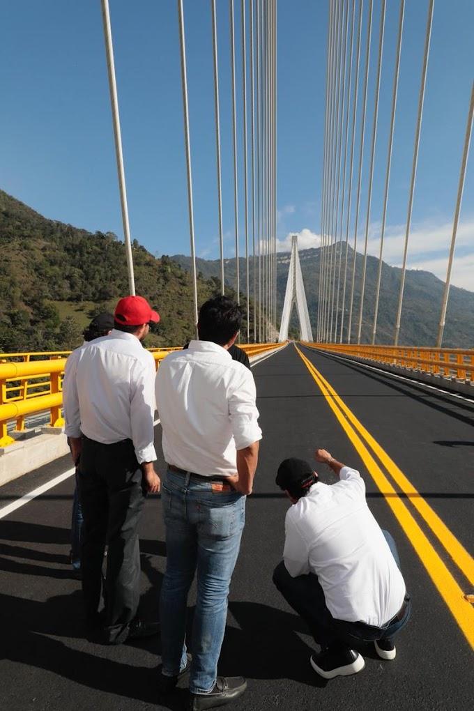 El próximo cinco de octubre inician cierres parciales del puente Hisgaura para sus primeras reparaciones