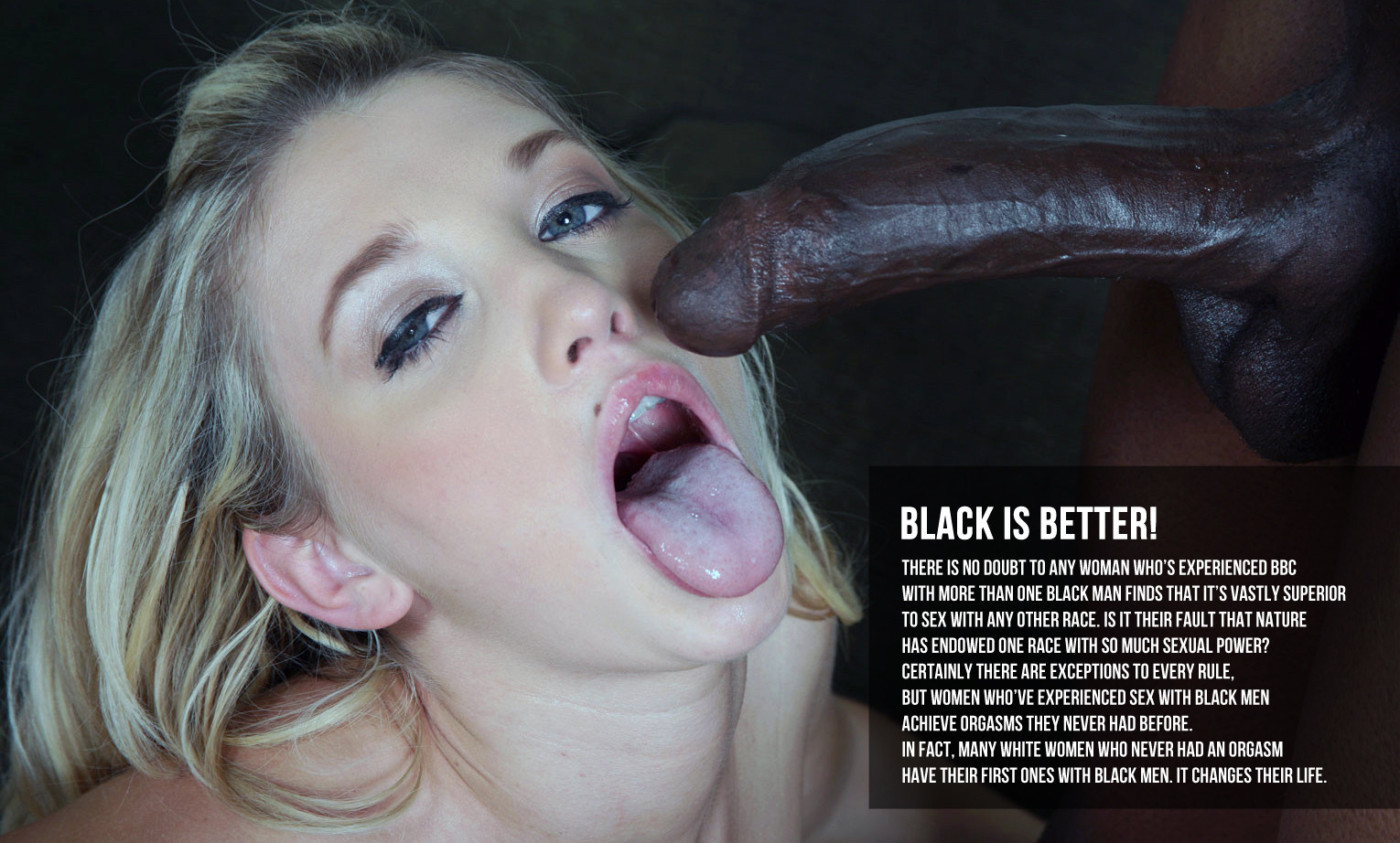Wife breeding black cock captions that necessary