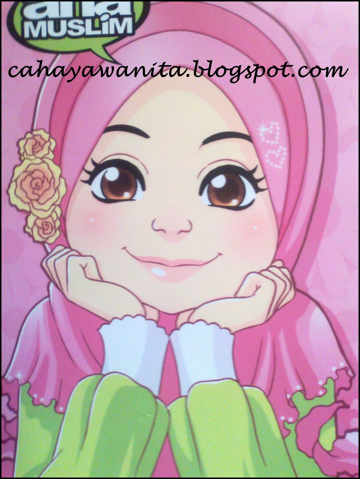 Wallpaper Android Kartun Muslimah  impremedia.net