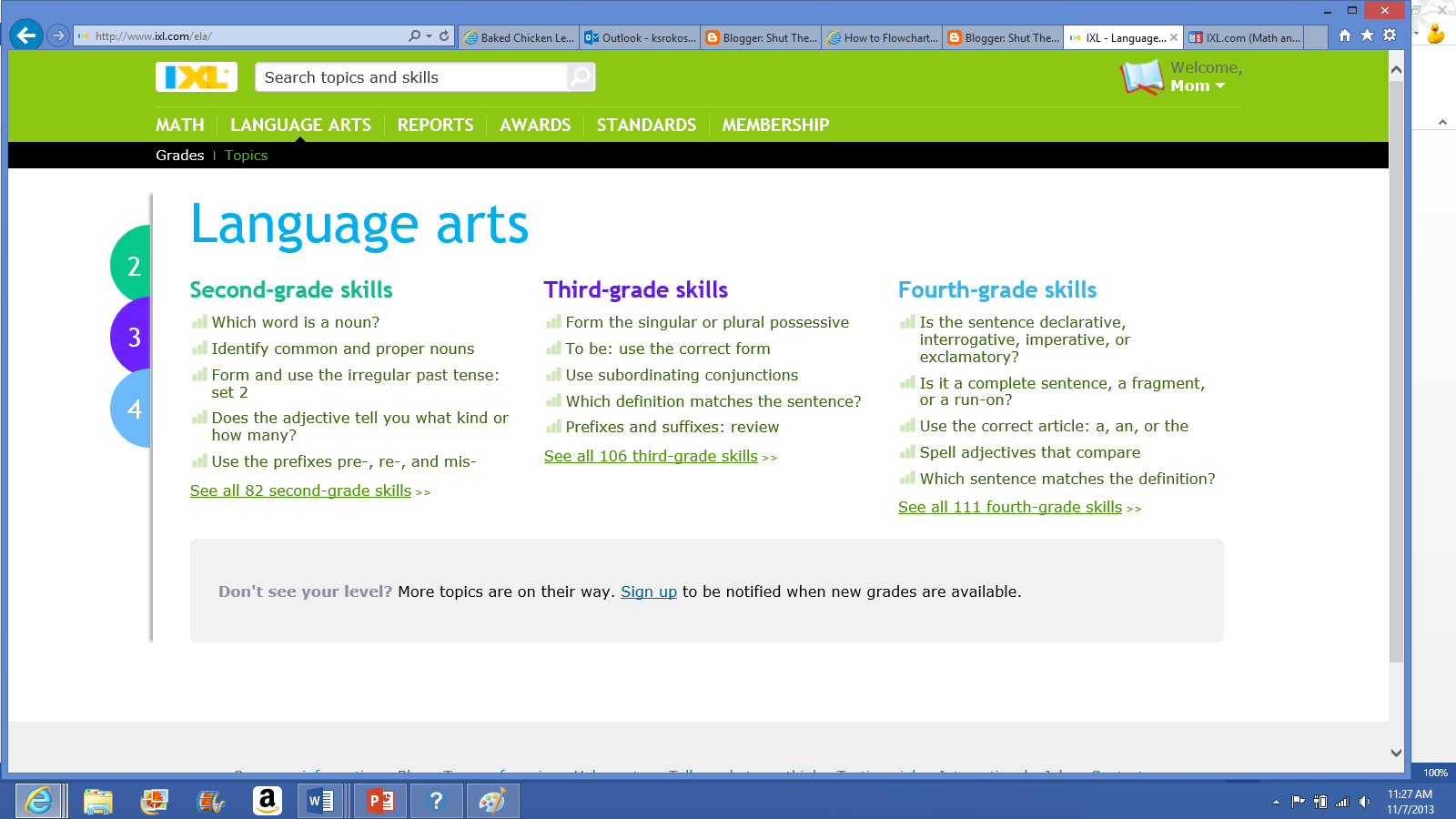 Shut The Fridge: IXL Learning