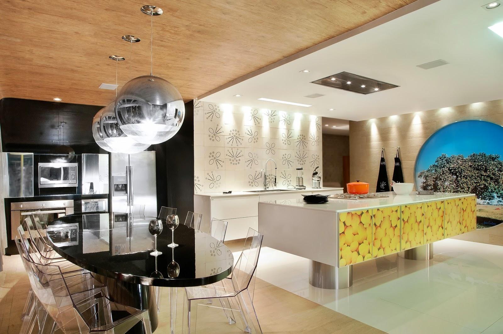 20 Cozinhas Modernas e Sofisticadas – Inspire se! Decor Salteado  #9F8E2C 1600 1062
