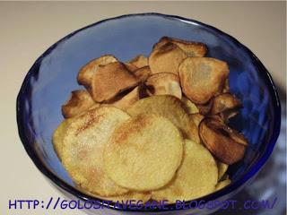chips, Contorni, fritto, patate, ricette vegan, topinambur,
