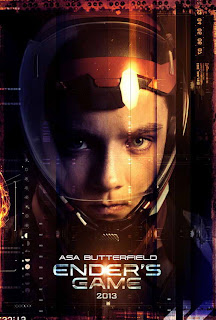 Ender's Game character poster - Asa Butterfield