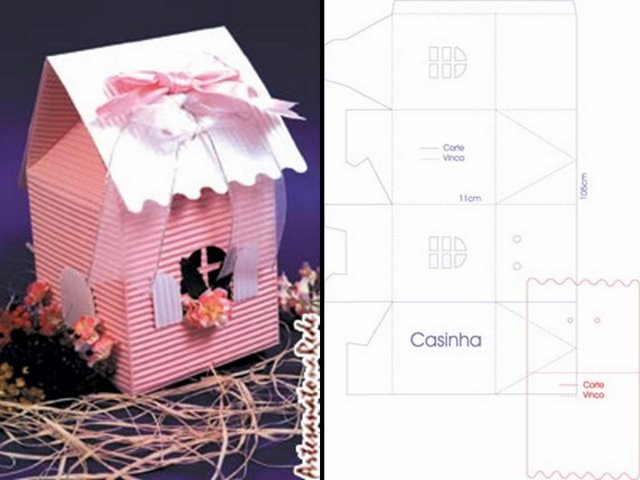 Урок-схема оригами домик из бумаги - Сезоны-года. рф 66