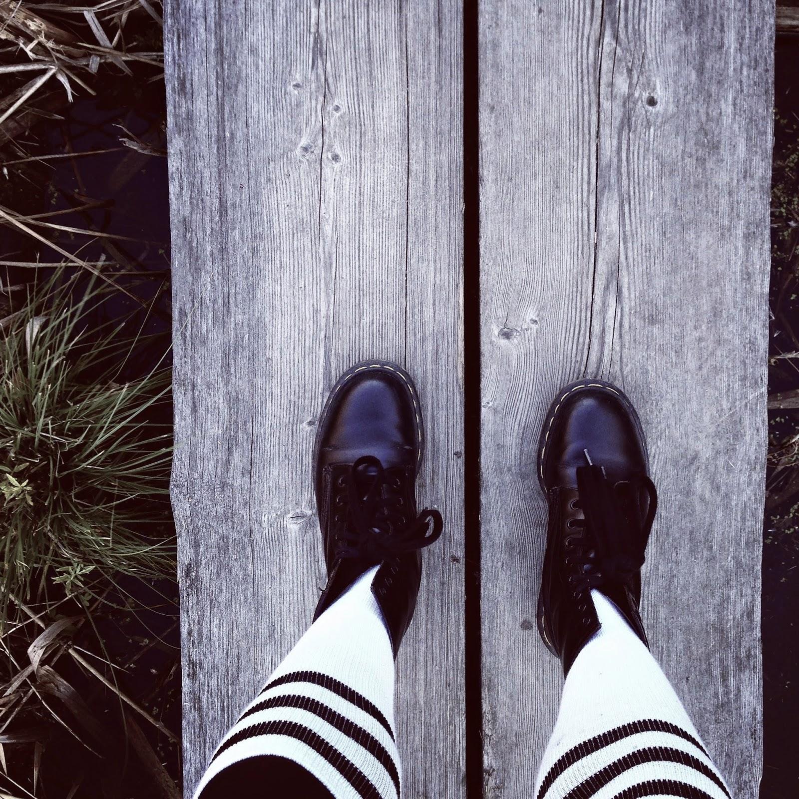 american socks, dr. martens
