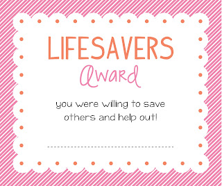 thanks for being a lifesaver printable | just b.CAUSE