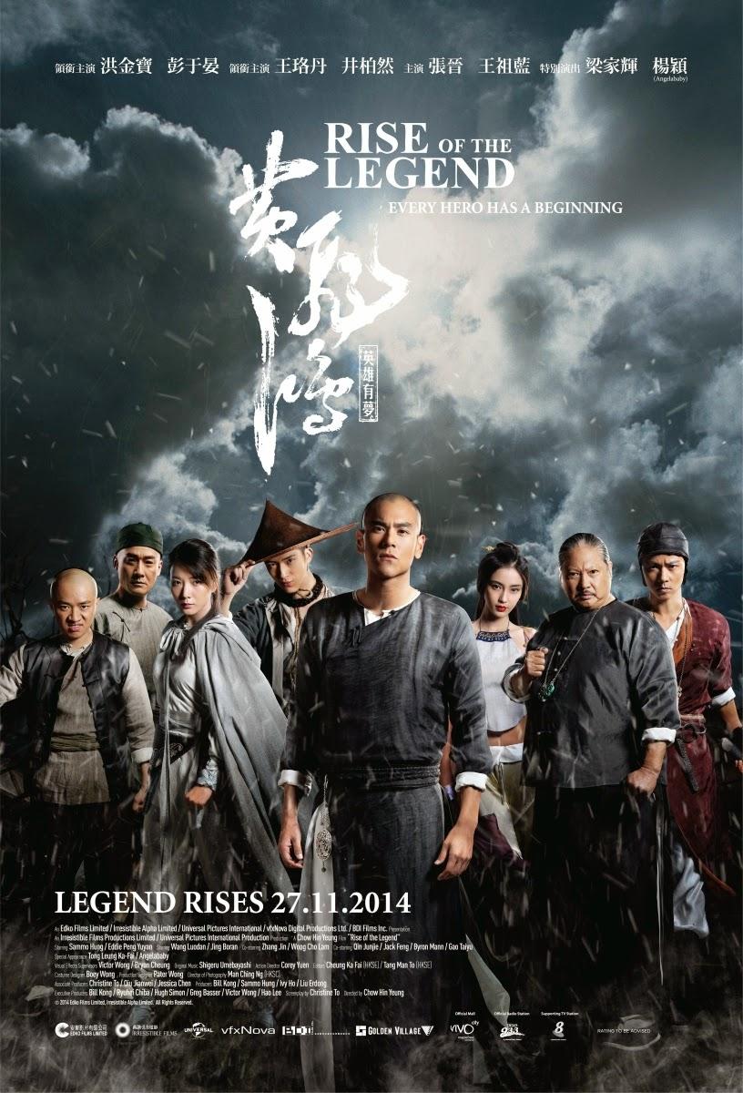 Film Rise of the Legend 2014 Bioskop
