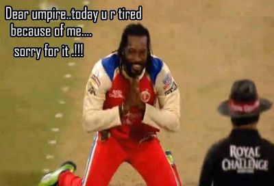 Pictures of Gayle storm IPL 2013