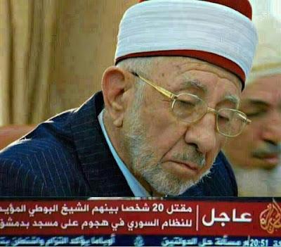 Kesyahidan Syeikh Al Buti: Biar Gambar Berbicara