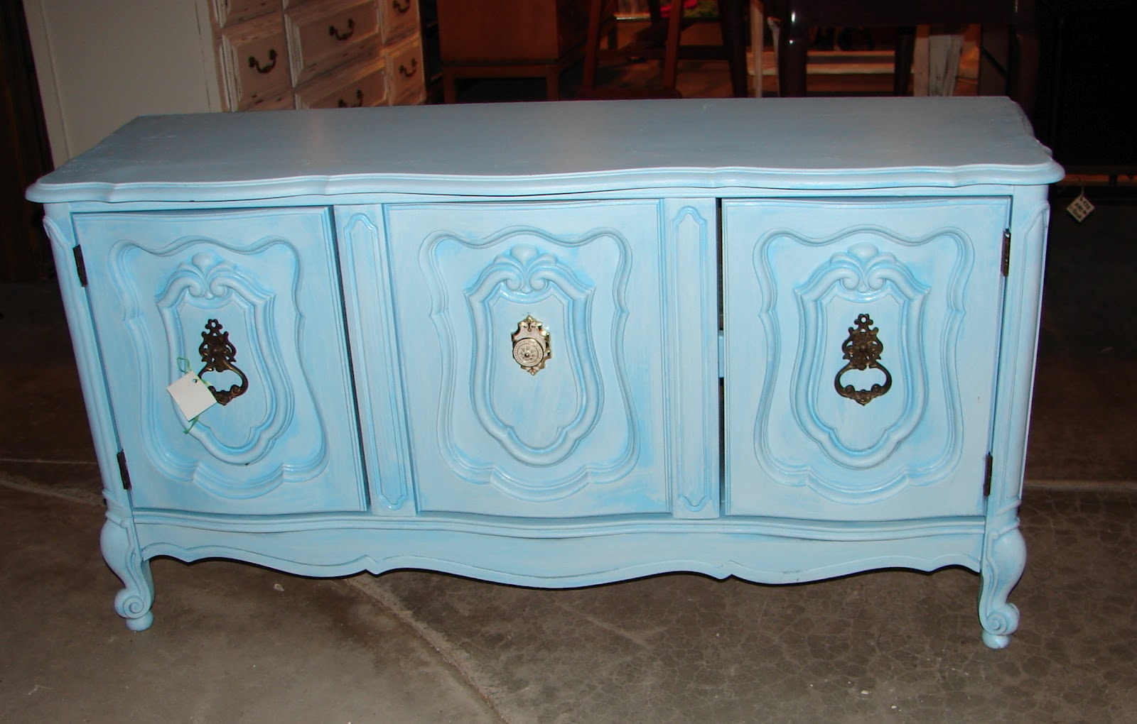 My Dear Trash: Help painting a French Provincial dresser.