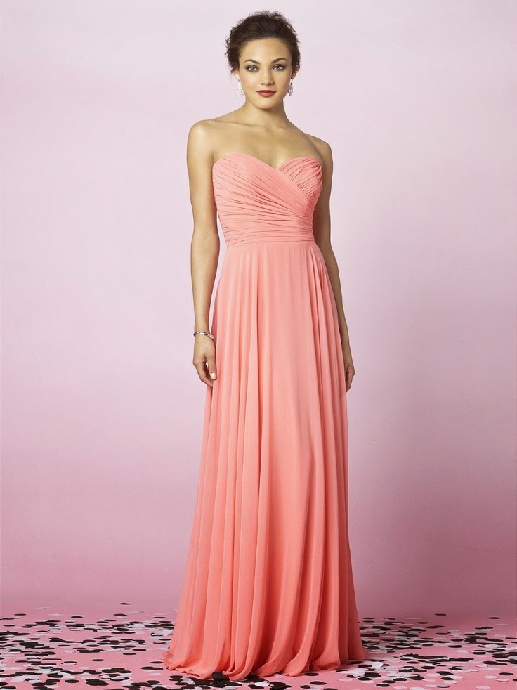 A-line Sweetheart Floor-length Bridesmaids Dress
