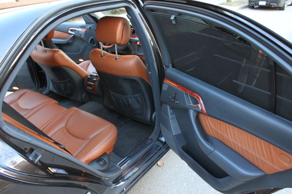 Mercedes S W Designo Interior