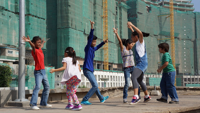 Tournage avec Central School of Ballet Phnom Penh et ''Dance Made in Cambodia''