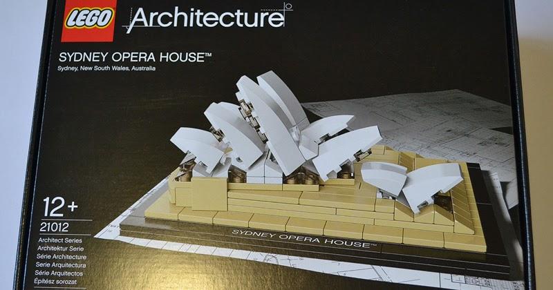 Yaniism Building The Lego Sydney Opera House