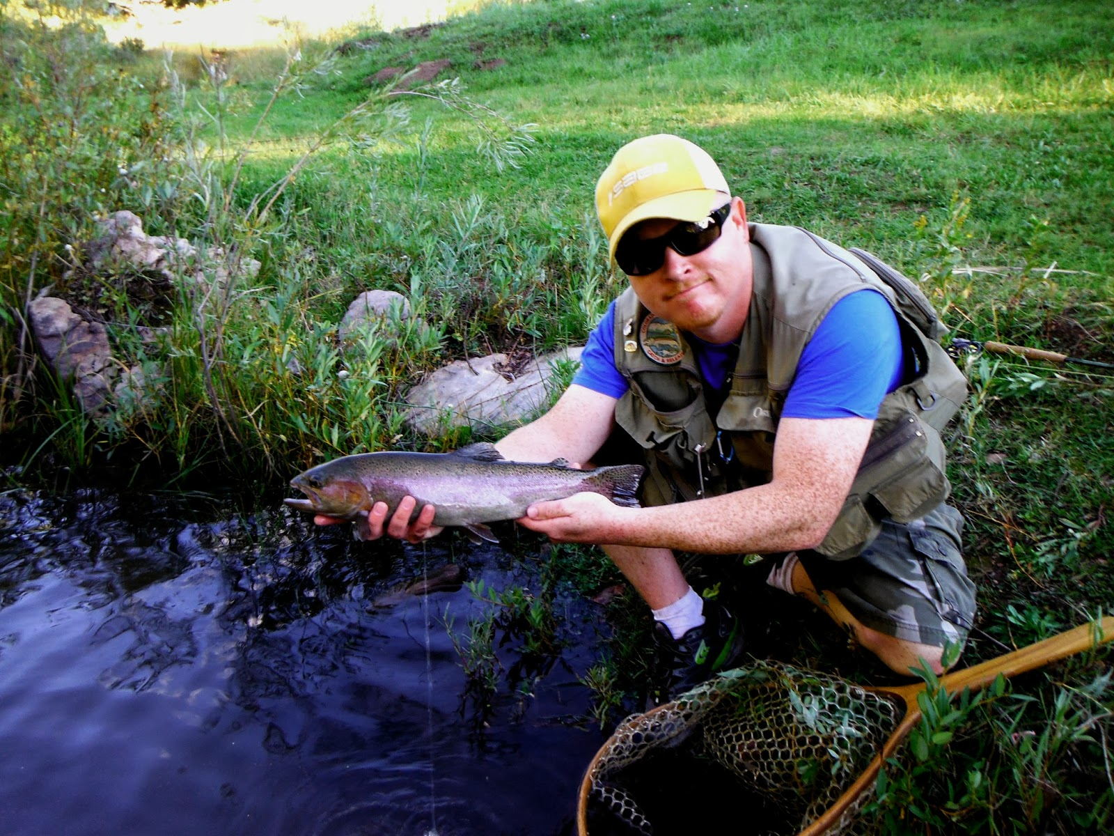 Jamie 39 s fly fishing journal rainbow falls post flood for Fly fishing journal