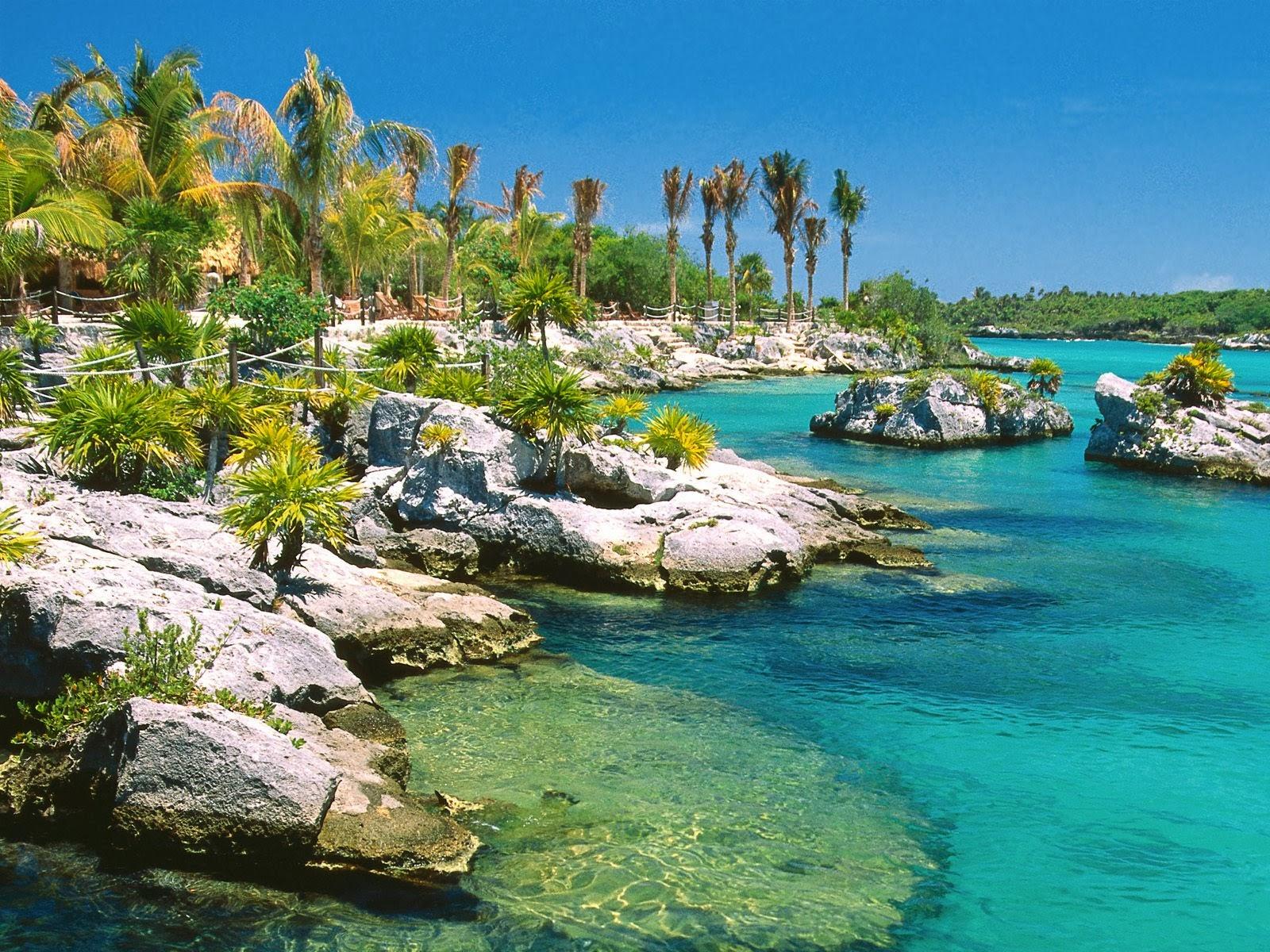 b6d27b3057 Em Cancun existem cerca de 22 quilômetros de praias de areia fina