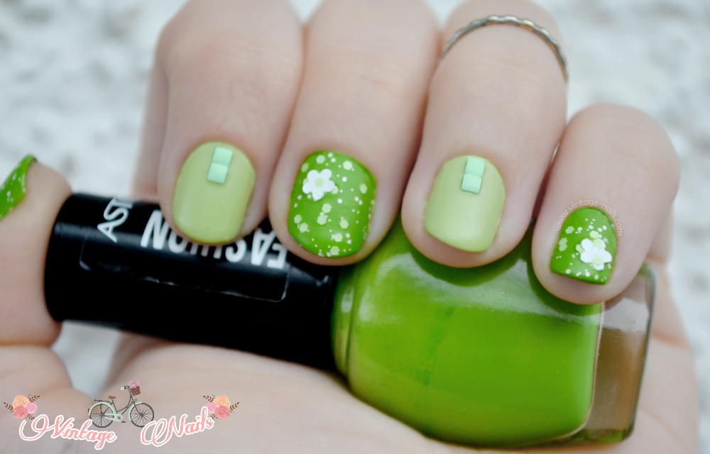 nail art, manicura, manicure, spring nail art, Etude House, Astor, Flormar