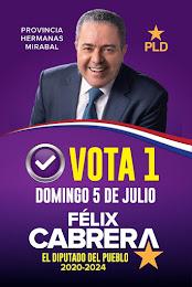 Felix Cabrera Diputado 2020