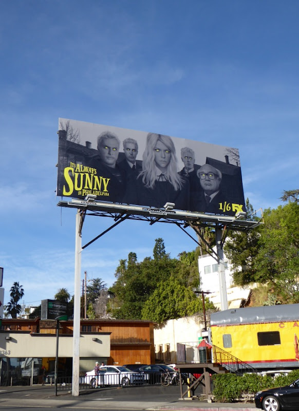 Its Always Sunny in Philadelphia season 11 billboard
