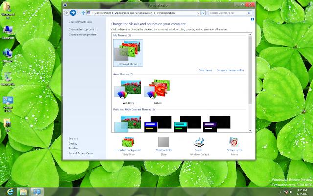 Bản Ghost Windows 8 Enterprise RTM x64 Nosoft  Theme