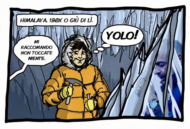 yolo archeologist vs paolo brosio
