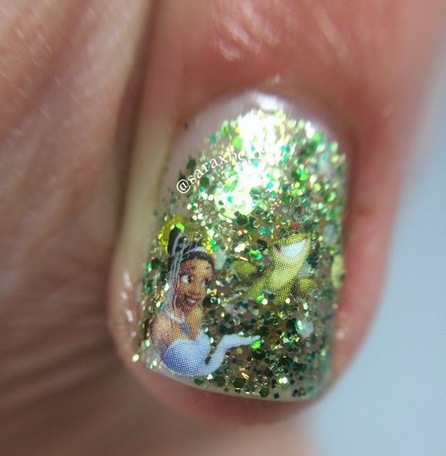 """""""Kiss a Frog?""""  Heather's Hues Happily Ever Lacquered Collection Princess Tiana Inspired"""