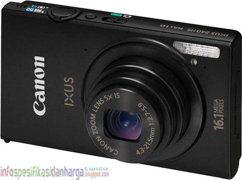 Spesifikasi CANON IXUS 240 HS Kamera Digital Terbaru 2012