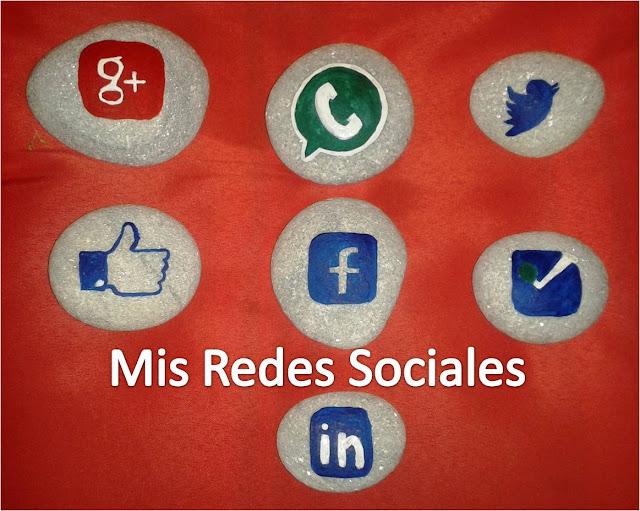 Logos Redes Sociales en Piedra