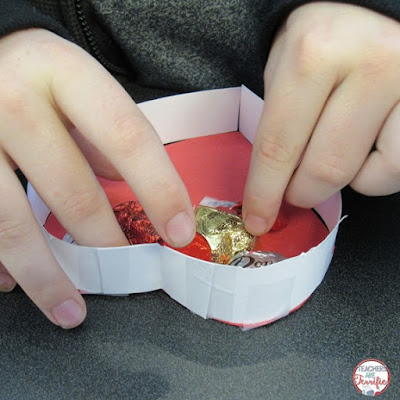 """STEM Challenge money-saving bundle of three tasks all involving Valentine's Day! What a great way to say """"I Love You"""" by having kids design boxes, zip lines, and more! Easy preparation for busy teachers!"""