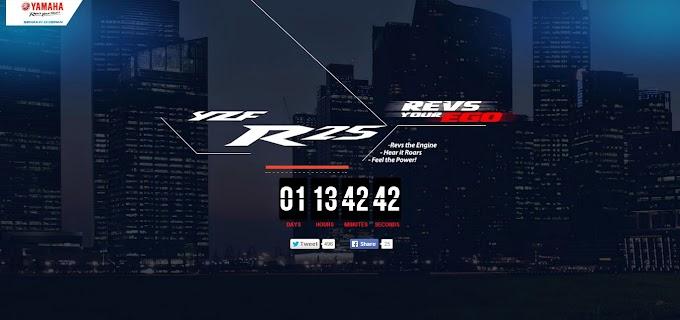 Countdown Inden Yamaha R25 35,5 DK Rp 53 juta Dimulai