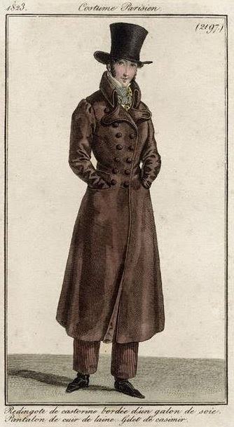 Costume Parisien 1823