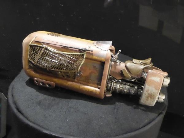 Star Wars Force Awakens Rey's Speeder model