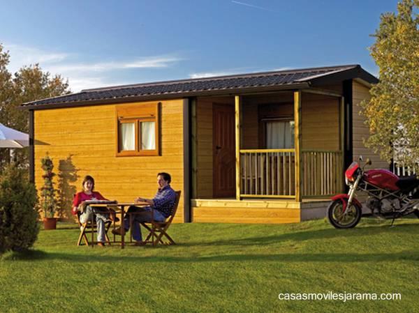 Vivienda prefabricada de madera económica