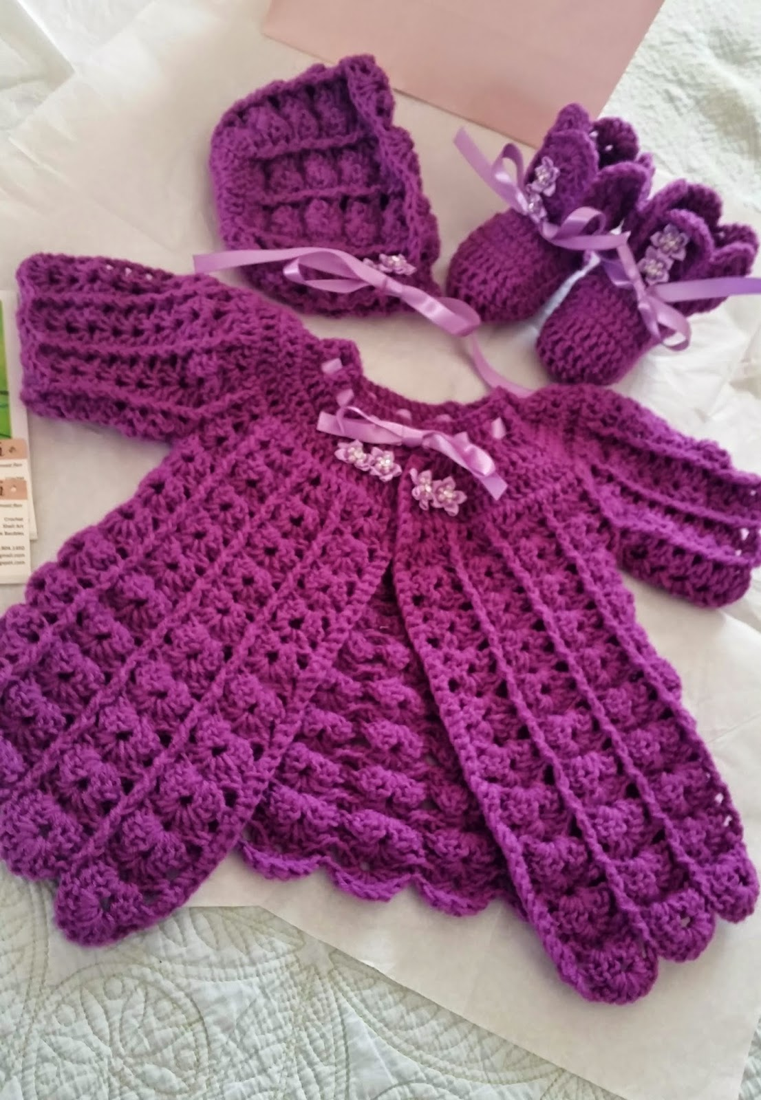 Crochet sweater for little fashionistas 65