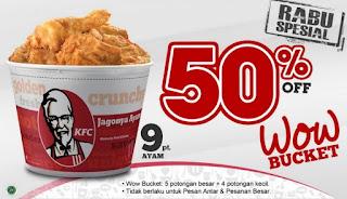 Daftar Harga Paket KFC Bucket Terbaru