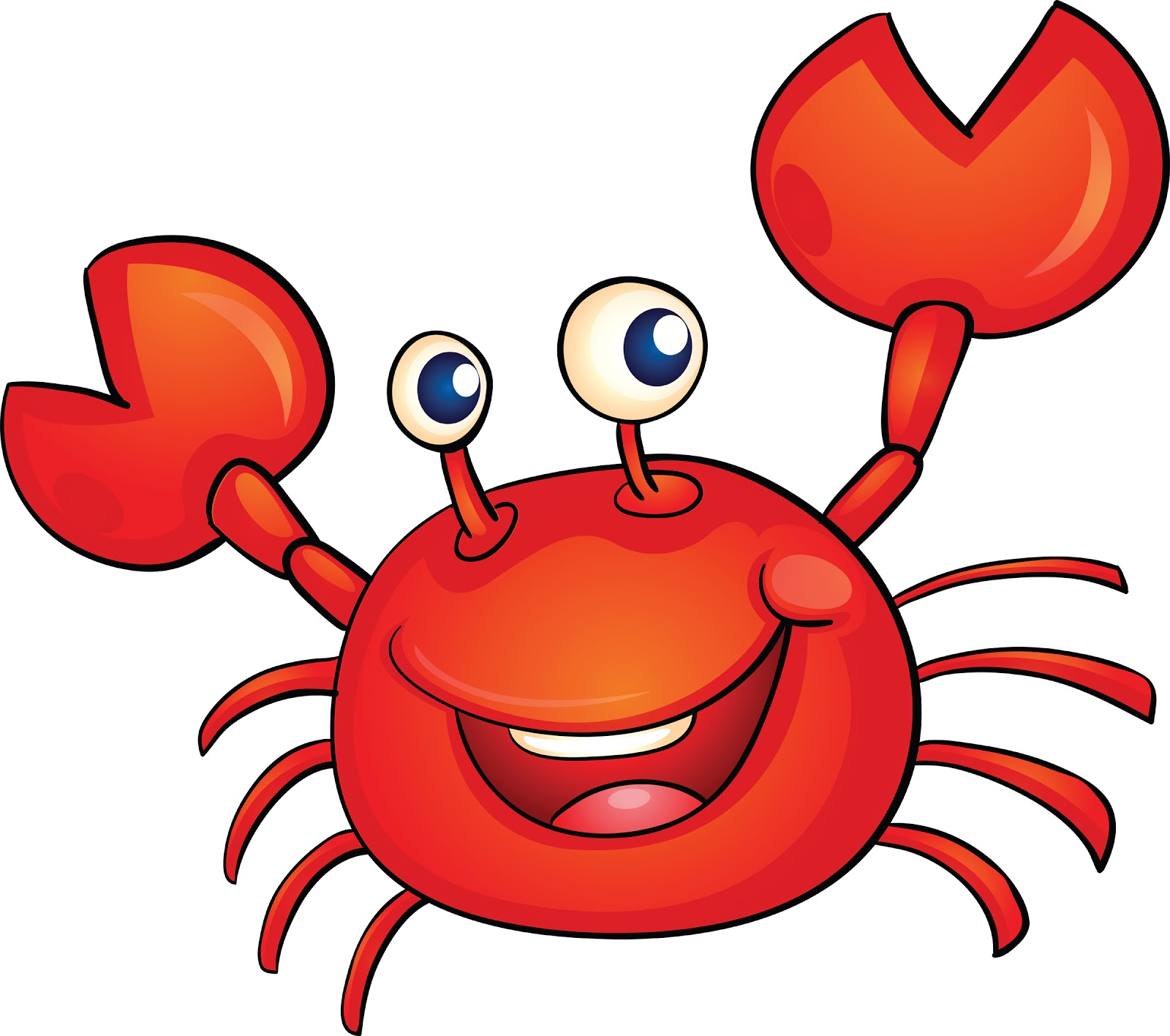 cartoon crab pictures to pin on pinterest pinsdaddy Cute Mommy and Baby Shark Baby Shark Clip Art Black Cute