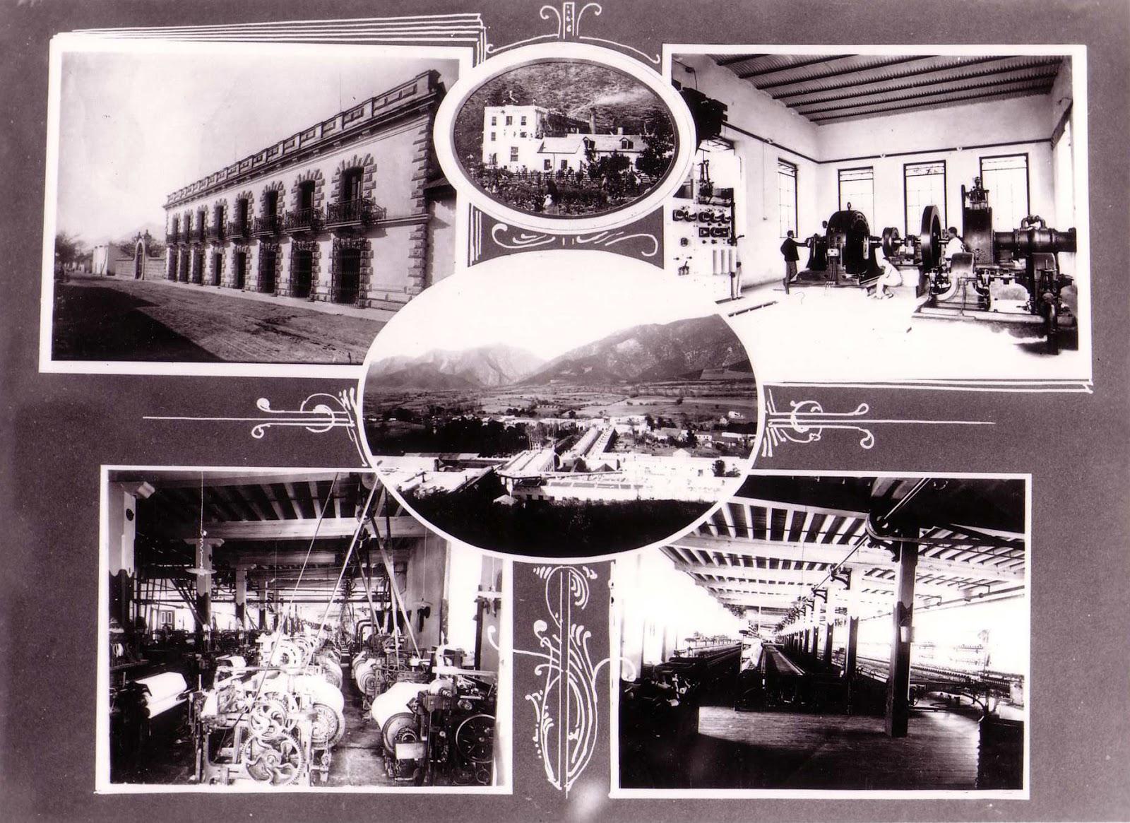 Monterrey m xico f brica de hilados y tejidos el porvenir for Fabrica de baldosas en santiago