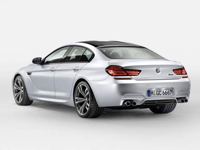 BMW M6 Gran Coupe 2014