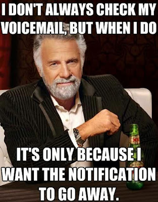 I don't always check my voicemail...  >> STARTS WITH CUPCAKES