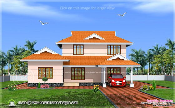 228 square meter kerala model house exterior kerala home design and floor plans - Kerala exterior model homes ...