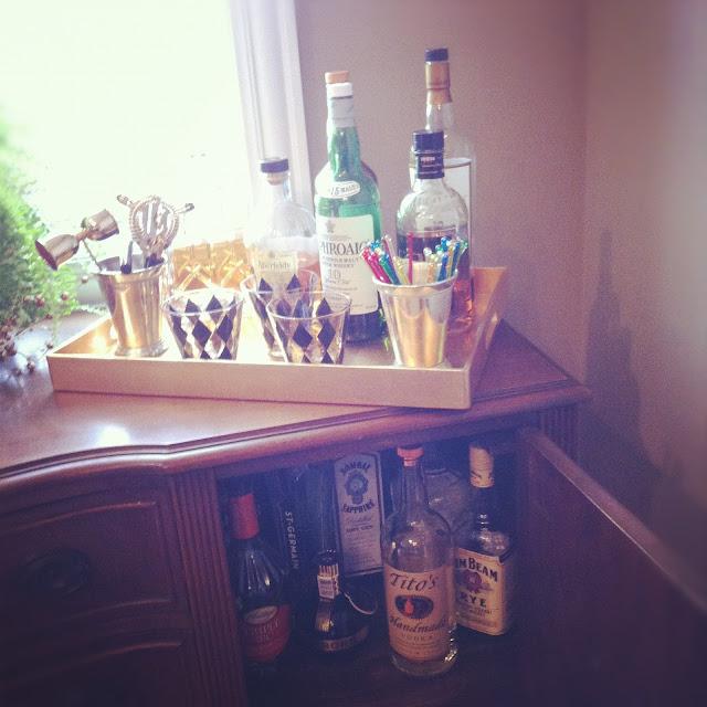 Retro / vintage bar