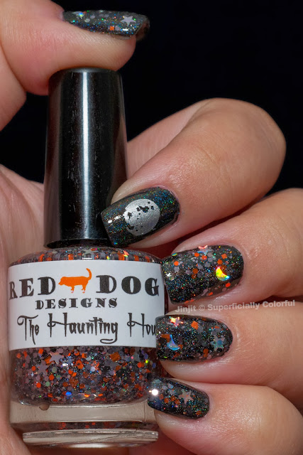 NailNation 3000 No Rest For The Wicked Red Dog Designs The Haunting Hour